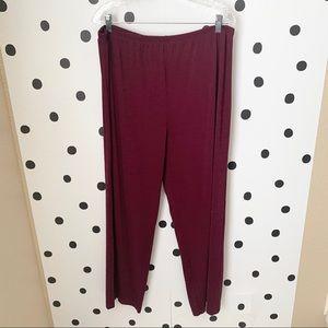 🌈5/$25🌈EUC George maroon color pants 18W/20W